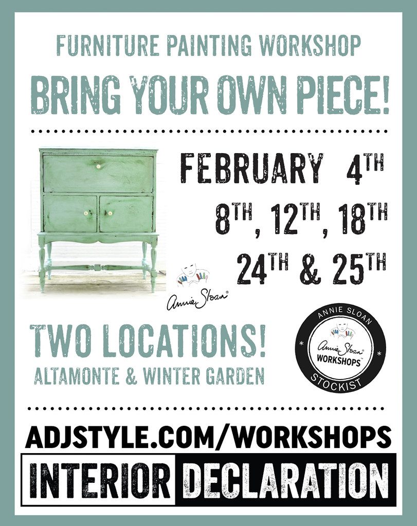 Furniture Painting Workshops with Chalk Paint®