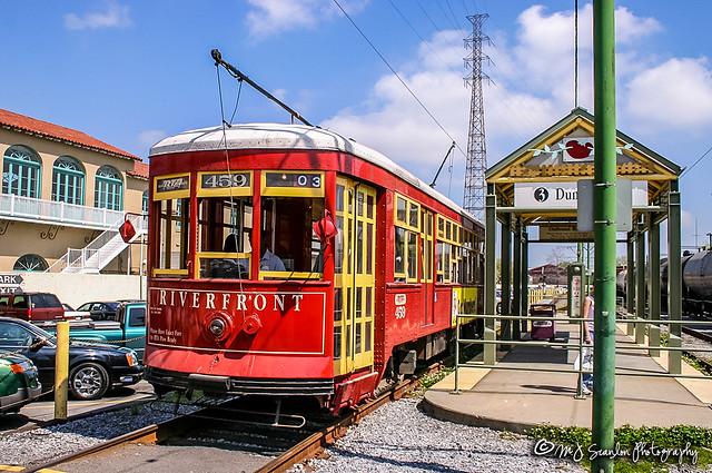 RTA 459 | Replica Perley Thomas Streetcar | New Orleans Public Belt