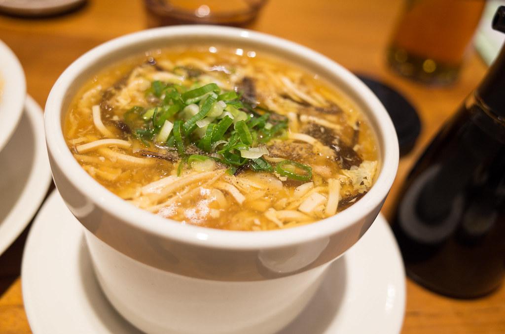 鼎泰豐 酸辣湯