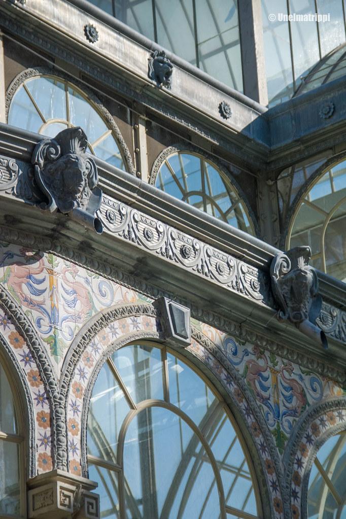 Palacio de Cristalin koristeluja