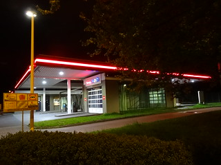 Total petrol station Dresden at the stadium | by Bambizoe