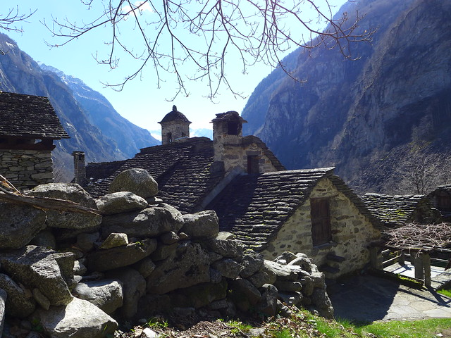 Foroglio Val Bavona Ticino