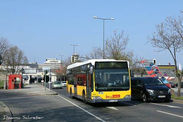 BVG 2265 Berlin Tegel Airport - TXL