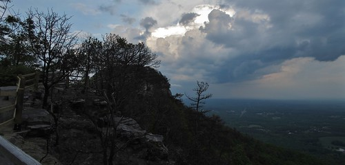 park sunset mountain nc state north may carolina thunderstorm knob pilot thunderstorms 2013