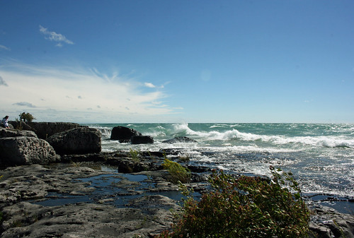 ontario canada clouds waves lakes shore laughter brucepeninsula whiskeyharbour rabindranathtagore 10faves