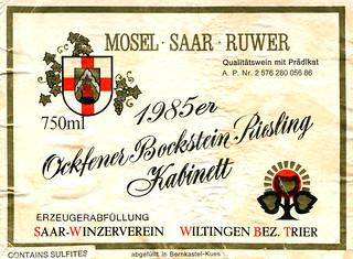 Ockfener Bockstein 1985 (Saar)