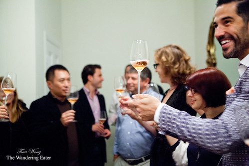 Toasting with bubbly rosé | by thewanderingeater