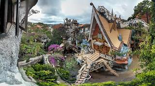 Crazy House. Dalat. Vietnam   by Mr & Mrs Backpacker