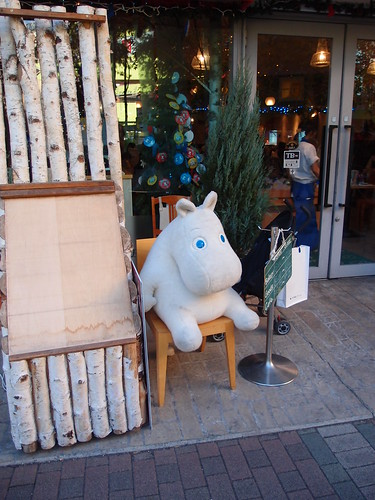 Moomins Cafe @ Tokyo Dome City   by *_*