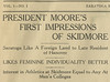 Skidmore News Oct 9, 1925 Moore First Impressions