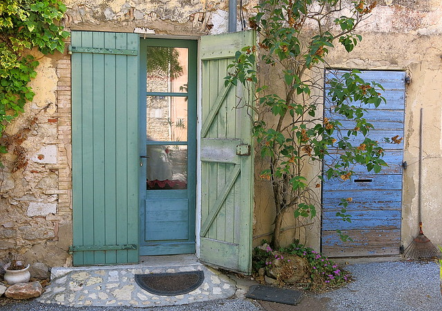 Greens and blues:  Fox-Amphoux, Var, Provence