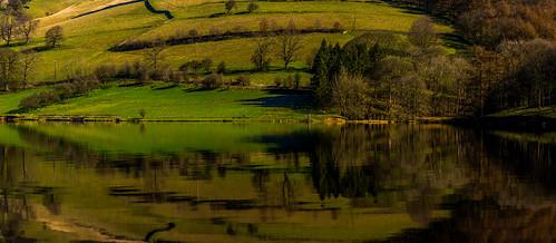 ladybowerreservoir ladybower derbyshire reflections reservoir peakdistrict darkpeak