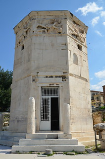 The Tower of the Winds, The Roman Forum (Athens) | by Following Hadrian