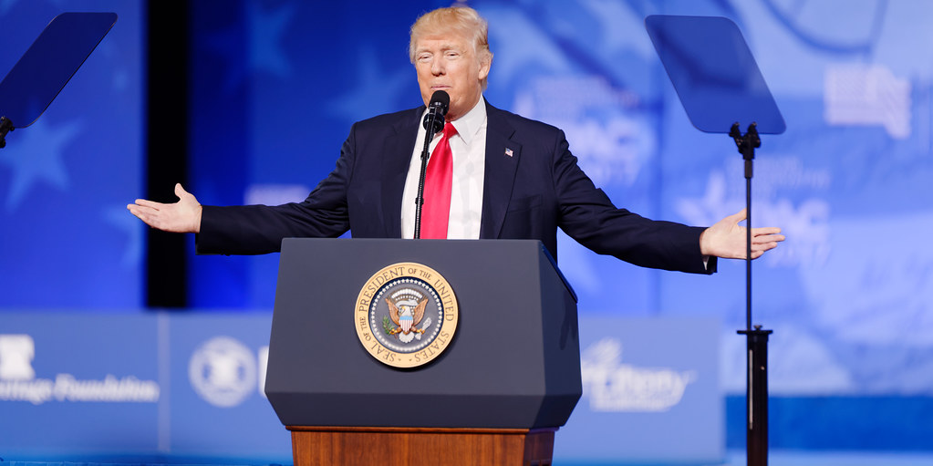 Trump breaks his weekslong silence at CPAC 2021