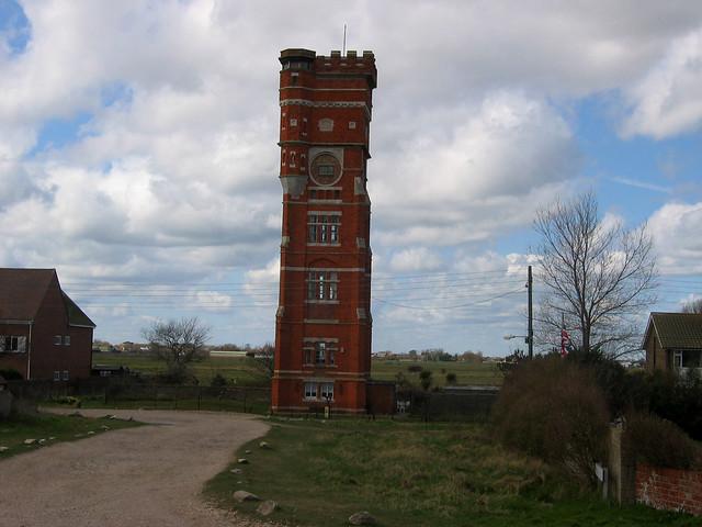 Littlestone-on-Sea water tower