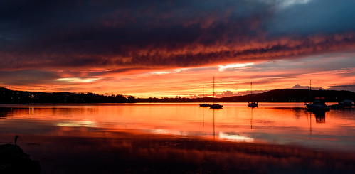 color nature dawn beauty boats background newsouthwales nsw brisbanewater panoramic scenic sky view dream sunrise australia reflections tascott weather clouds koolewong scene scenery beautiful travel water light landscape waterscape bay coast coastal centralcoast panorama