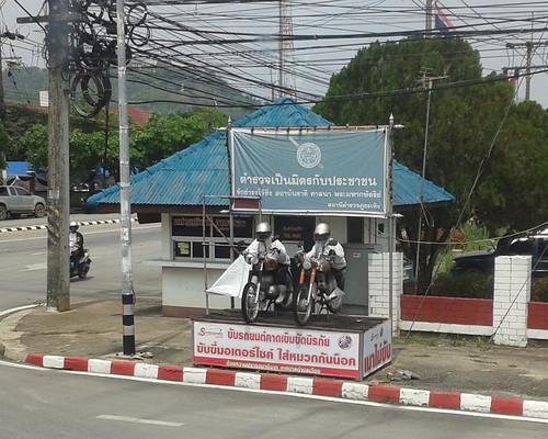 thailand police chiangrai thoeng motorcycle
