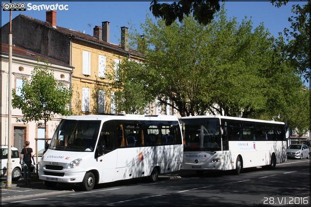 Iveco Bus  - Coulom (Ruban Bleu)