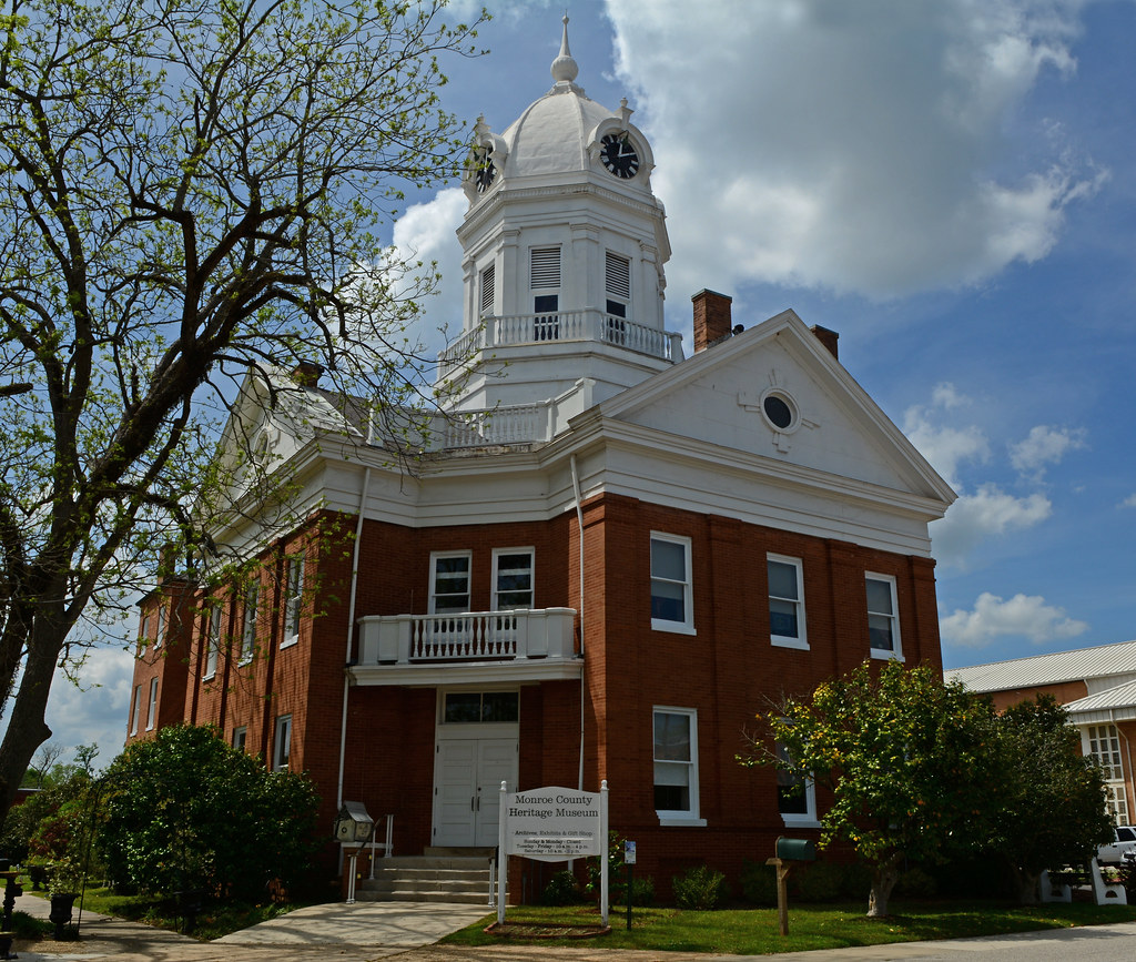 Old Monroe County Courthouse | Monroeville, AL | David Reed