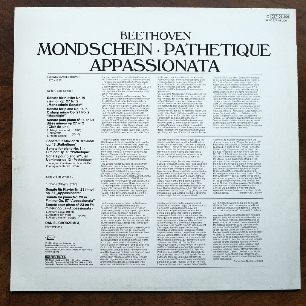 Backside Beethoven - Piano Sonata No 14 op 27,2