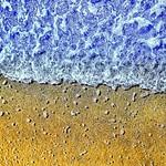 Gorgeous Water's Edge Marine Blue and Gold ゴージャスな波打ち際 マリンブルーとゴールド #chita #aichi #japan #may #2013  撮影機器:iPhone5 App:snapspeed Laminar  #jp_views #ig_asia #gf_japan #wu_asia #ig_nippon #jp_views_mobileshot