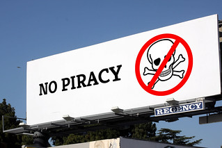 No Piracy billboard | by thedescrier