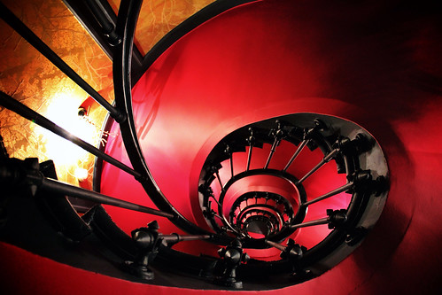 red paris france stairs hotel boutique circularstairs hotelangely