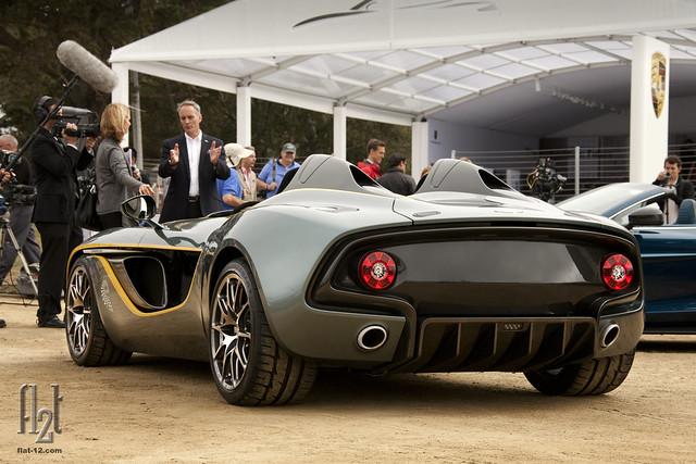 North American debut for the Aston Martin CC-100 Concept
