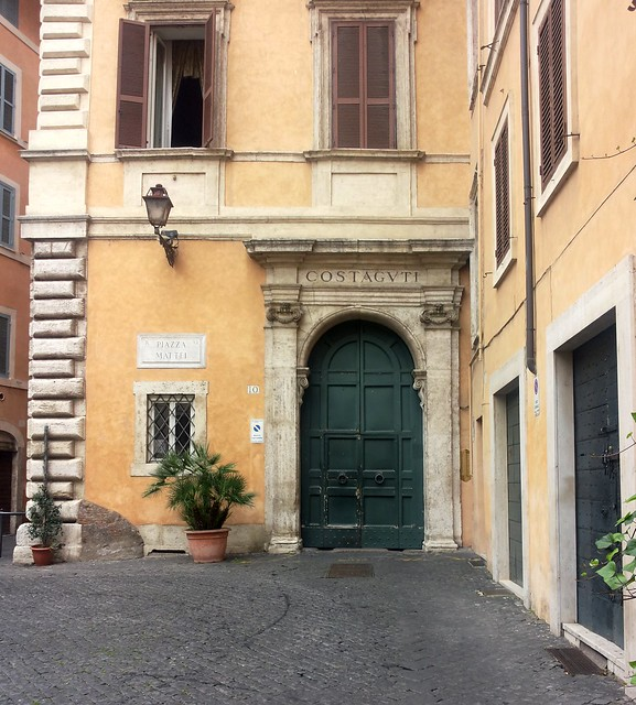 Ghetto di Roma - Piazza Mattei - Palazzo Costaguti