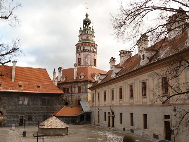 Castillo de Cesky Krumlov (República Checa)