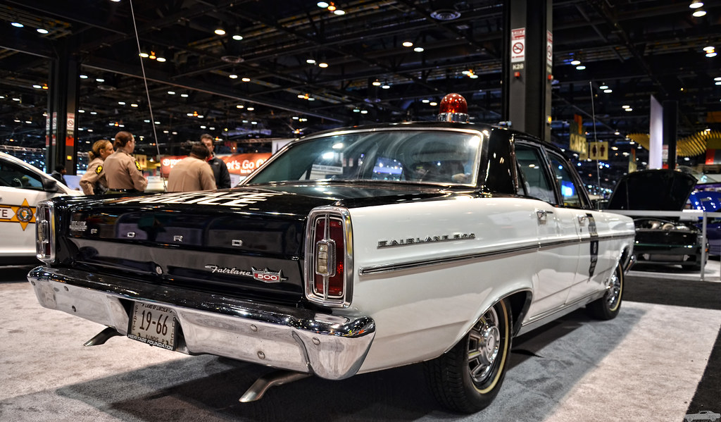 1966 Ford Fairlane 500 Police Car | Chad Horwedel | Flickr