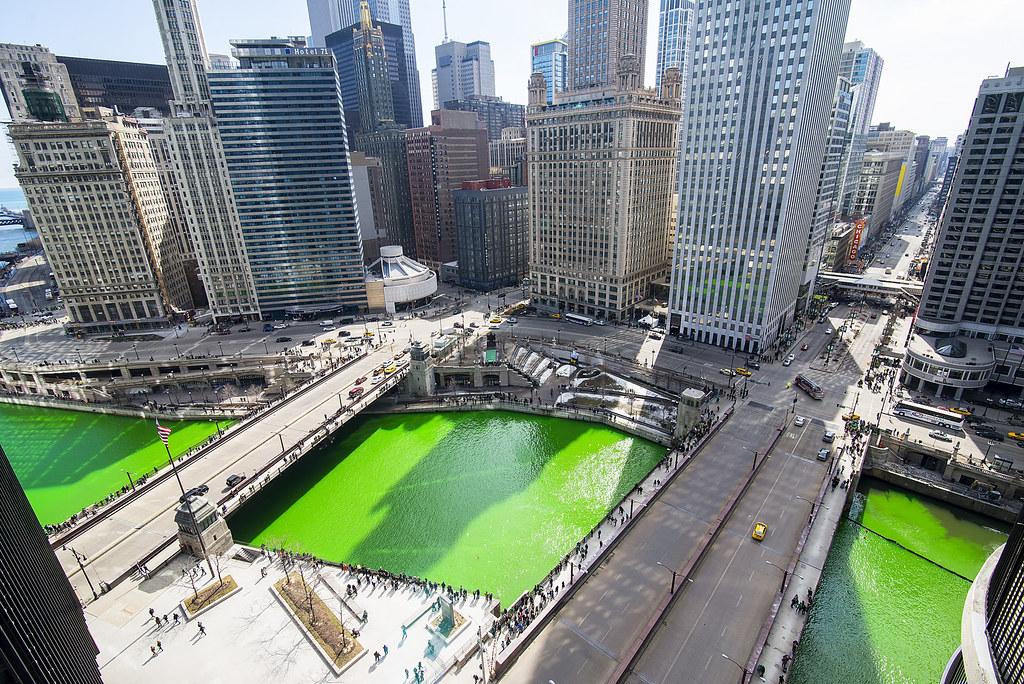Chicago Green River Photo From Jeff Lewis For St Patri