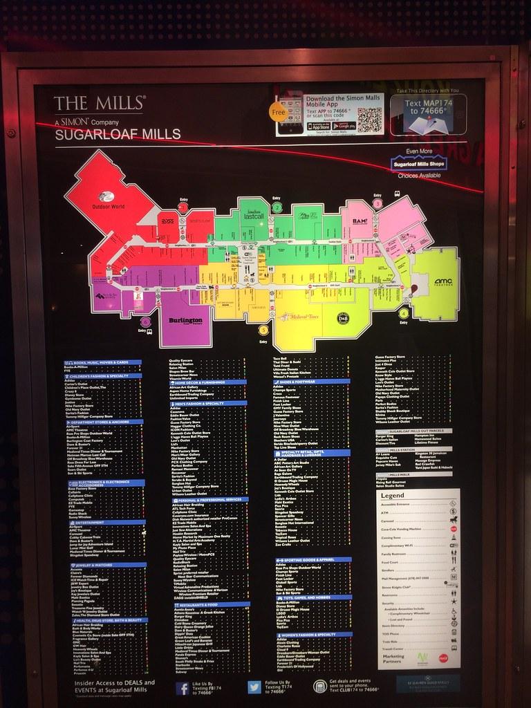 Map Of Georgia Mall.Sugarloaf Mills Lawrenceville Atlanta Georgia Mall Flickr