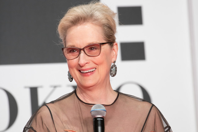 "Meryl Streep from ""Florence Foster Jenkins"" at Opening Ceremony of the Tokyo International Film Festival 2016"