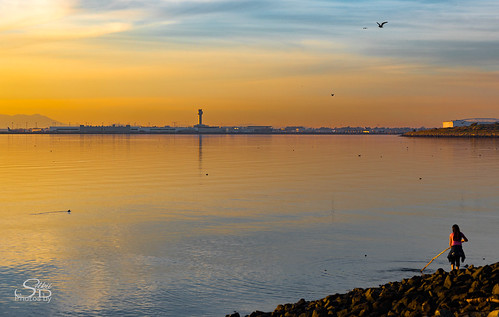 bay california clouds dusk evening marina marinapark sanfranciscobay sanleandro sunset unitedstates water
