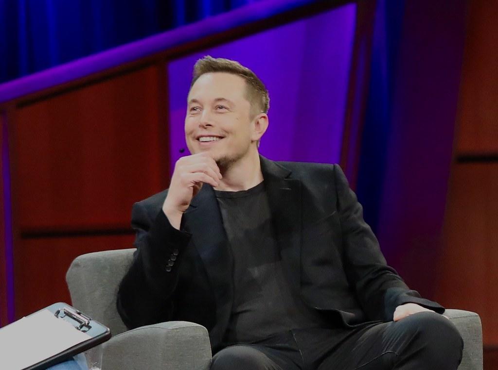 Elon Musk Dreaming of a Brighter Future | Elon Musk was spec… | Flickr