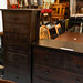 Solid dark wood 7 high chest E190 reduced