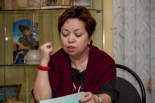 Мар 31 2017 - 18:16 - Н. Ячеистова читает отрывок из своей книги