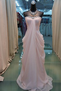 2012 new color strapless elegant evening dresses | by xubangwen