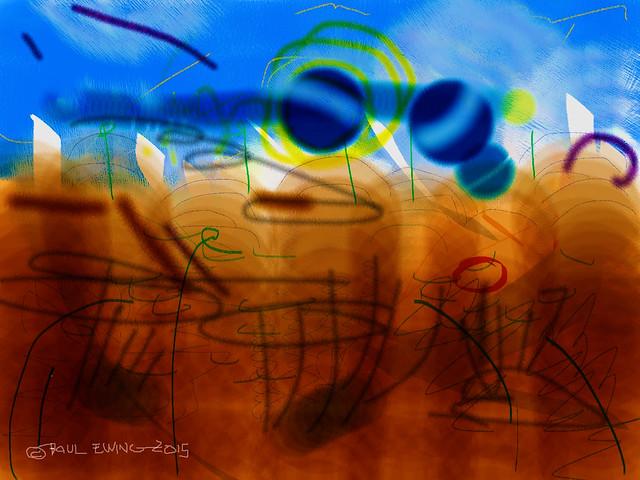 Digital Abstract Painting 1.0; Summer 2015
