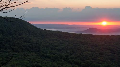 sunrise appalachiantrail