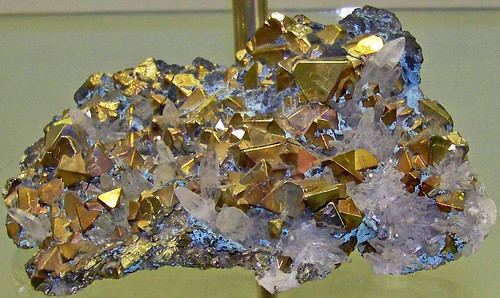 Pyrite-quartz (latest Cretaceous to earliest Tertiary, 62-66 Ma; Butte Mining District, Montana, USA) 3 | by James St. John
