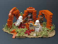 In the Nick of Time by Kingdomviewbricks