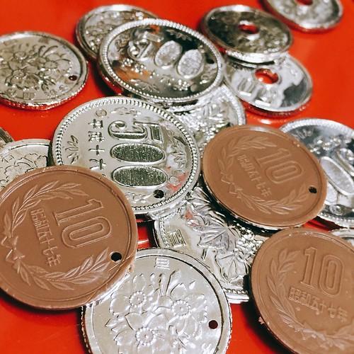 素材:お金、小銭