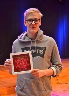Brassbandfestivalen 2013 - Instrumentalistpriset till Johannes Forsberg, Åsenhöga - Eufonium (Foto: Olof Forsberg)