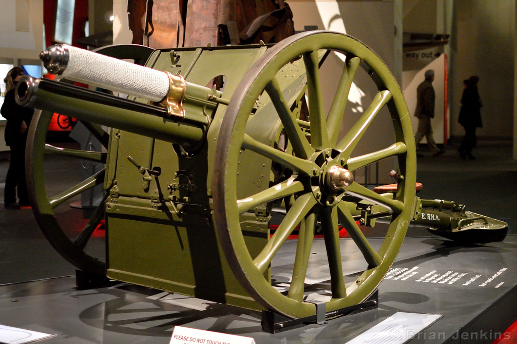 British 13 Pounder Field Gun | WWI  RHA