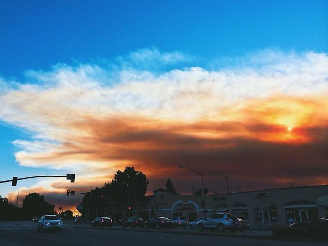 [explored] glendora wildfire 1-16-2014 morning.