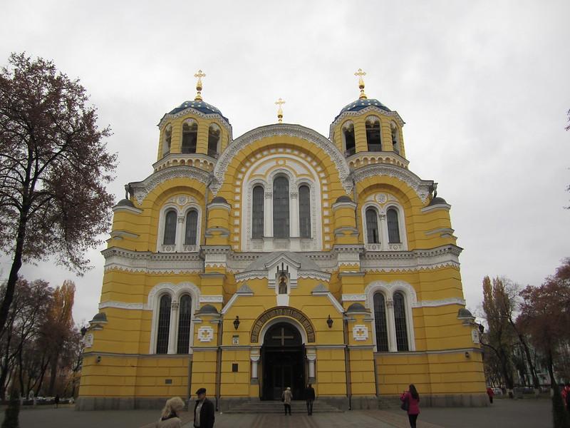Ukraine - Kiev - Cathédrale Saint-Vladimir
