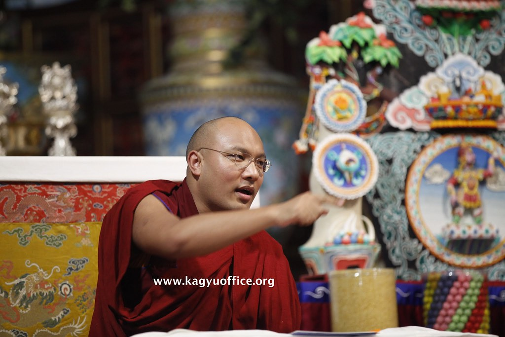2015.01.24 Gyalwang Karmapa Makes Historic Announcement on Restoring Nuns' Ordination
