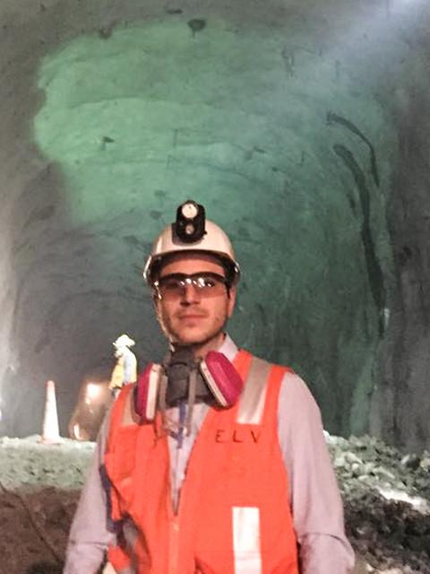 Ernesto Labbe, ingeniero de operaciones, Gerencia Minería Subterránea, Programa de Graduados División Chuquicamata